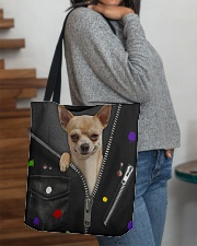 Chihuahua - Zip - All Tote All-over Tote aos-all-over-tote-lifestyle-front-09