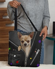 Chihuahua - Zip - All Tote All-over Tote aos-all-over-tote-lifestyle-front-10