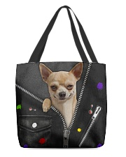 Chihuahua - Zip - All Tote All-over Tote back