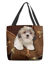 Shih Tzu   All-over Tote front