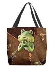 Frog  All-over Tote back