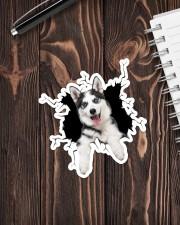 Husky Crack Sticker - Single (Vertical) aos-sticker-single-vertical-lifestyle-front-05