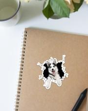 Husky Crack Sticker - Single (Vertical) aos-sticker-single-vertical-lifestyle-front-16