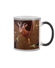 Goat  Color Changing Mug tile