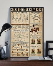 Horse Riding Knowledge 11x17 Poster lifestyle-poster-2