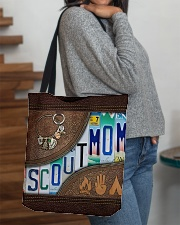 Scout Mom Letters Tote Bag All-over Tote aos-all-over-tote-lifestyle-front-09