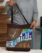 Scout Mom Letters Tote Bag All-over Tote aos-all-over-tote-lifestyle-front-10