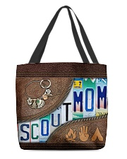 Scout Mom Letters Tote Bag All-over Tote back