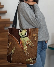 Turtle  All-over Tote aos-all-over-tote-lifestyle-front-09
