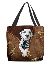 Dalmatian  All-over Tote back