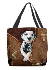Dalmatian  All-over Tote front