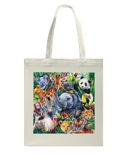 Elephant - Elephant And Friends Tote Bag thumbnail