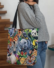 Elephant - Elephant And Friends All-over Tote aos-all-over-tote-lifestyle-front-09