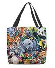 Elephant - Elephant And Friends All-over Tote back