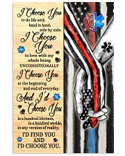 Firefighter - EMT - C - I Choose You Poster 11x17 Poster thumbnail