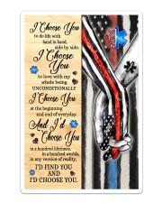 Firefighter - EMT - C - I Choose You Poster Sticker tile
