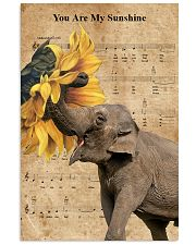 Elephant You Are My Sunshine 11x17 Poster front