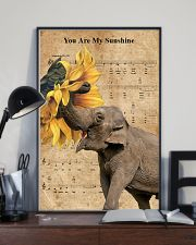 Elephant You Are My Sunshine 11x17 Poster lifestyle-poster-2