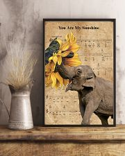 Elephant You Are My Sunshine 11x17 Poster lifestyle-poster-3