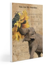 Elephant You Are My Sunshine Gallery Wrapped Canvas Prints tile