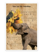 Elephant You Are My Sunshine Sticker - Single (Vertical) thumbnail
