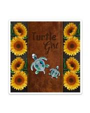 Turtle Girl  Sticker - Single (Vertical) thumbnail