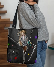 Horse - Zip - All Tote All-over Tote aos-all-over-tote-lifestyle-front-09