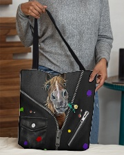 Horse - Zip - All Tote All-over Tote aos-all-over-tote-lifestyle-front-10