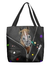 Horse - Zip - All Tote All-over Tote back