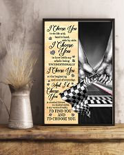 Racing I Choose You 11x17 Poster lifestyle-poster-3