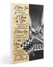 Racing I Choose You Gallery Wrapped Canvas Prints tile