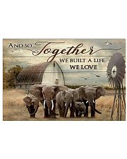 Elephant And So Together 17x11 Poster front