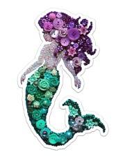Mermaid Beauty Sticker - Single (Vertical) front