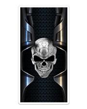 Skull Metal Case Sticker - Single (Vertical) thumbnail