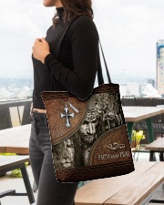 Jesus Faith Over Fear All-over Tote aos-all-over-tote-lifestyle-front-04