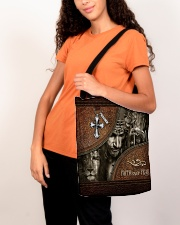 Jesus Faith Over Fear All-over Tote aos-all-over-tote-lifestyle-front-07