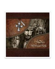 Jesus Faith Over Fear Sticker tile