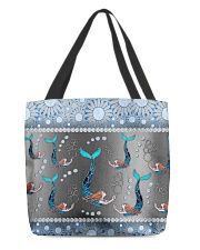 Mermaid  - Blue Phone Case All-Over Tote tile