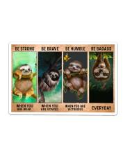 Sloth Be Strong Sticker - Single (Horizontal) thumbnail