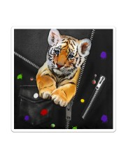 Tiger - Zip - All - Tote  Sticker - Single (Vertical) thumbnail