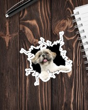 Shih Tzu Crack  Sticker - Single (Vertical) aos-sticker-single-vertical-lifestyle-front-05