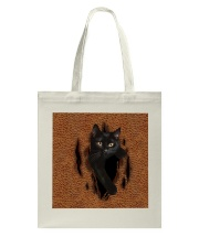 Black Cat Rend Tote Bag thumbnail