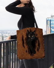 Black Cat Rend All-over Tote aos-all-over-tote-lifestyle-front-05