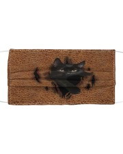 Black Cat Rend Cloth face mask thumbnail