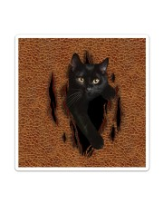 Black Cat Rend Sticker - Single (Vertical) thumbnail
