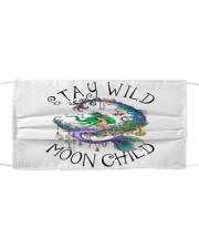 Mermaid - Stay Wild Moon Child Sticker Cloth face mask thumbnail