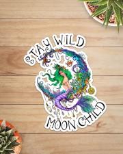 Mermaid - Stay Wild Moon Child Sticker Sticker - Single (Vertical) aos-sticker-single-vertical-lifestyle-front-07