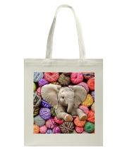 Elephant Wool Rolls Tote Bag thumbnail