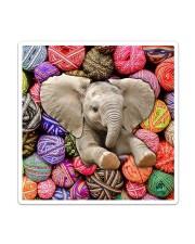 Elephant Wool Rolls Sticker - Single (Vertical) thumbnail