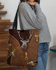 Deer All-over Tote aos-all-over-tote-lifestyle-front-09